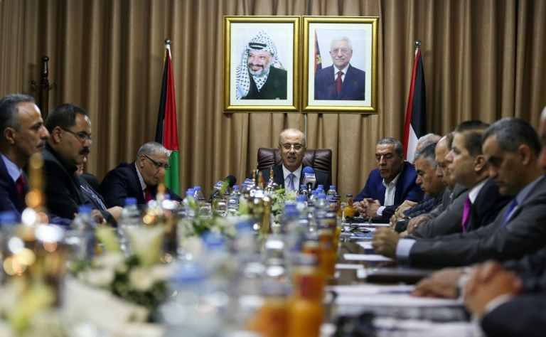 Palestinian PM Chairs Cabinet Session in Gaza