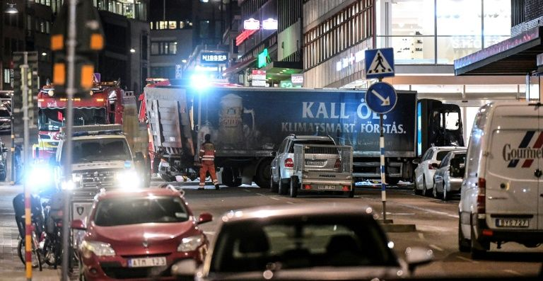 Suspect device found in Sweden crash truck