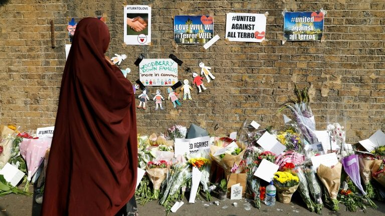 Man charged with terrorism-related murder in London van attack