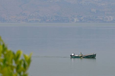 Believed by Christians to be where Jesus walked on water, the Sea of Galilee has been shrinking mainly due to overuse