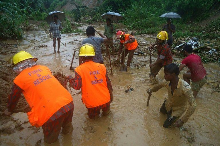 Heavy rain, landslides kill at least 111 in Bangladesh