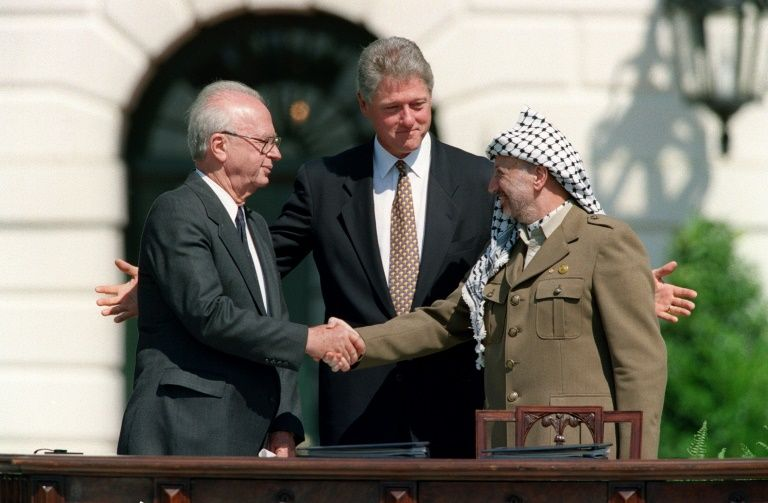 Street in Israeli-Arab village to be renamed 'Arafat Rabin' after controversy