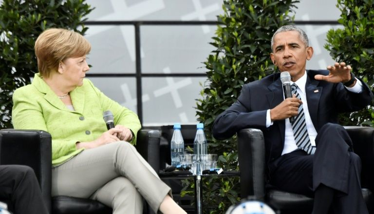 In Germany, Obama speaks out against isolationism: 'We can't hide behind a wall'