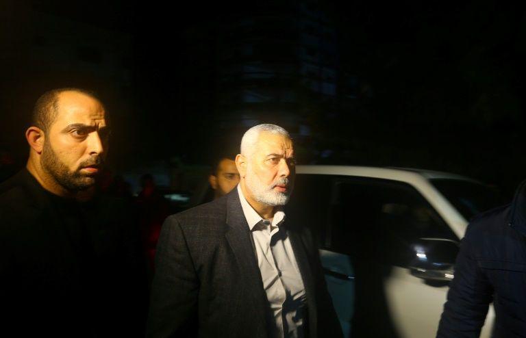Ismaïl Haniyeh a été élu chef du mouvement palestinien Hamas