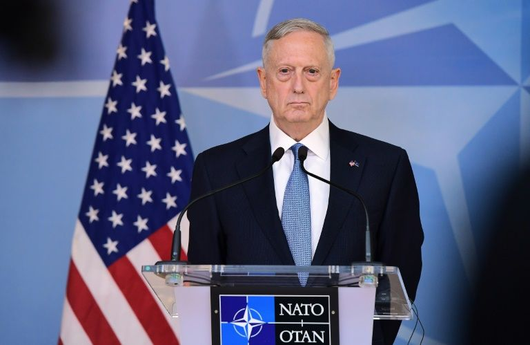 US Defence Minister James Mattis reaffirmed Washington's commitment to NATO during a meeting in Brussels