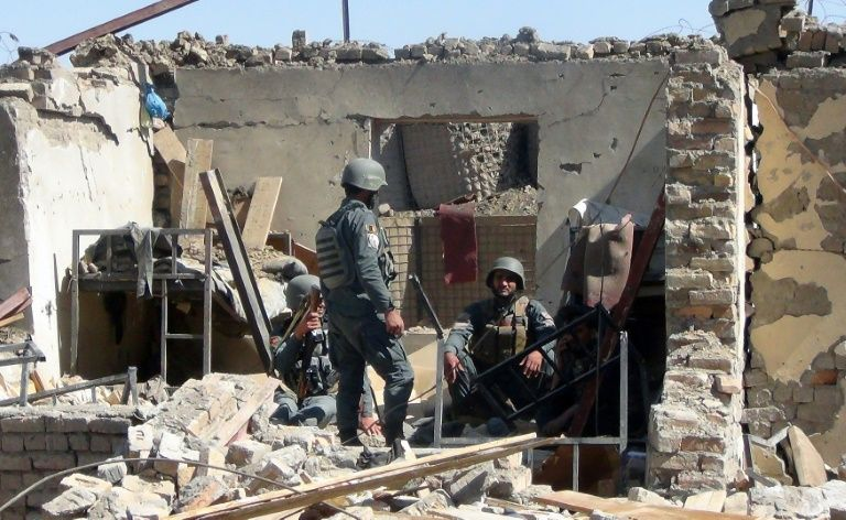 Vehicle  bomb kills 30 people outside Afghanistan bank