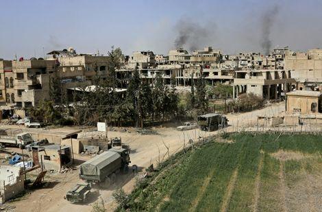 Syrie: 37 civils tués dans des bombardements russes sur la Ghouta