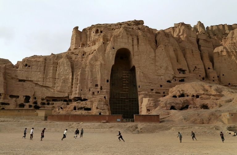 Bamiyan, perched in Afghanistan's central highlands, is a rare oasis of tranquility which has largely been spared the country's wrenching conflict