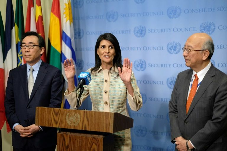 Haley warns USA  reconsidering membership in United Nations  rights council