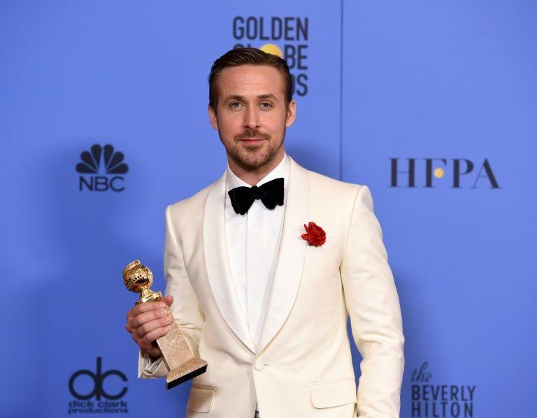 Ryan Gosling, sacré meilleur acteur de comédie aux Golden Globes, le 8 janvier 2017
