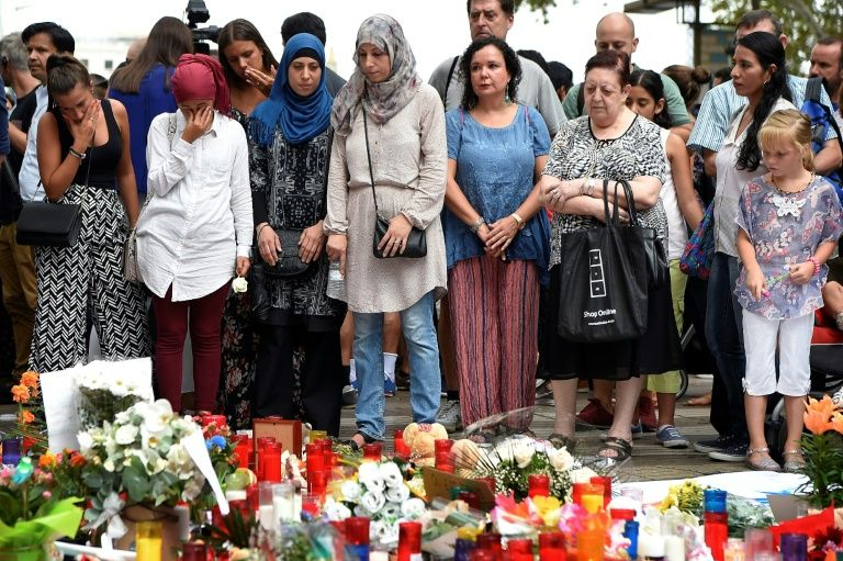 Muslims joined fellow residents of Barcelona to mourn the victims from Thursday's terror attack. But some fear the bloodshed has sown the seeds of islamophobia