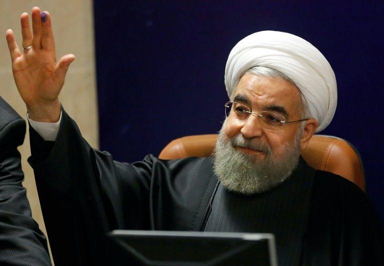 Le président iranien Hassan Rohani à Téhéran, le 21 décembre 2015