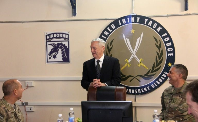 Defense Secretary Presents White House New Plan To Rapidly Defeat Islamic State