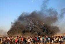 Palestinian killed, hundreds said injured in clashes with IDF on Gaza border