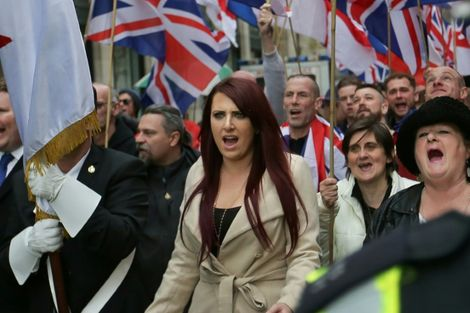 Facebook bans pages of UK far-right organization retweeted by Trump