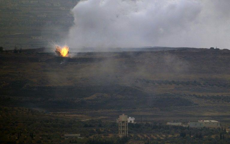 Riposte israélienne suite au tir de trois obus syriens dans le nord du Golan
