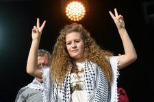L'activiste palestinienne Ahed Tamimi reçue par le Real Madrid