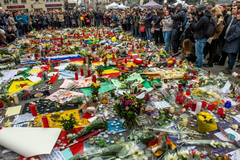 Anniversary of Brussels Bomb Attacks