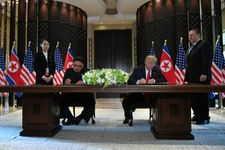 Kim commits to 'complete denuclearization of Korean Peninsula' in joint text