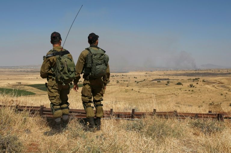 Israeli army says no spillover fire from Syria on Monday morning