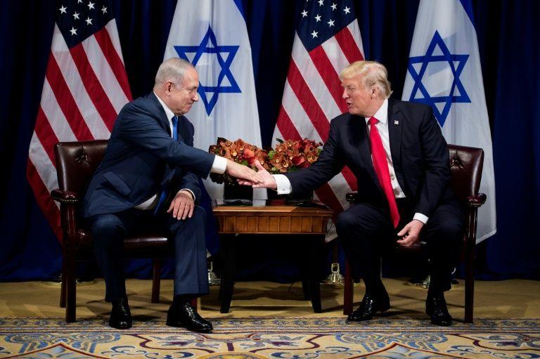 """Netanyahou encense le discours """"courageux"""" et """"tranchant"""" de Trump à l'ONU"""
