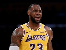 Basketball star Lebron James courts controversy with 'Jewish money' post