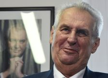 Czech President Milos Zeman is tipped to win a second term at next month's elections