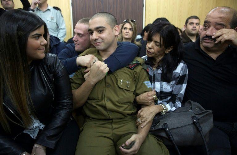 Israël: la famille d'Azaria à la Knesset pour promouvoir la demande de grâce