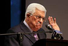 Le président palestinien Mahmoud Abbas, le 4 janvier 2015 à Ramallah