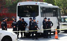 Police shoot man crashing tractor in Ankara allegedly heading to Israeli embassy
