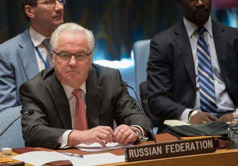 Russian Ambassador to UN Vitaly Churkin dies in New York, aged 64