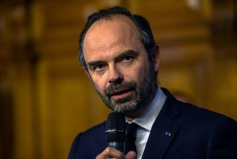 Le Premier ministre français Edouard Philippe à Tourcoing, dans le nord de la France, le 22 février 2018