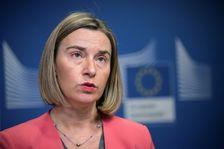 La chef de la diplomatie européenne Federica Mogherini, le 14 décembre 2017 à Bruxelles