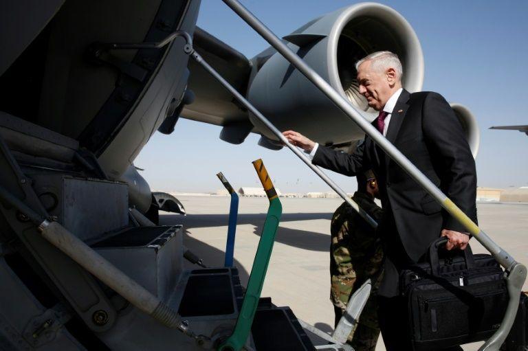 US Defense Secretary Mattis callsTaliban 'barbaric' in unannounced Afghan visit