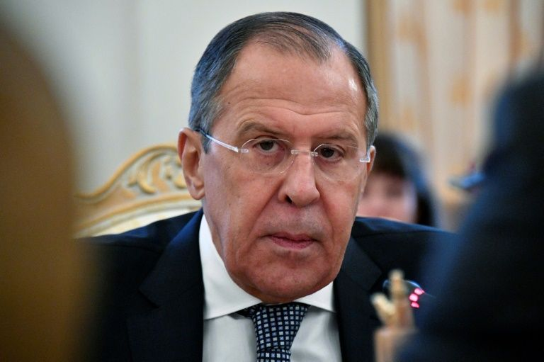 "Russian Foreign Minister Sergei Lavrov, seen January 18, 2017,  told Russian lawmakers that he had invited ""all the opposition representatives from the political opposition that wish to come to Moscow"" for talks"