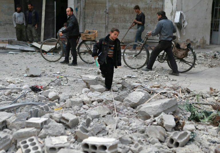 Dozens Of Civilians Killed In Syria Air Strikes