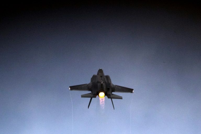 |Israeli Fighter Jets In Action