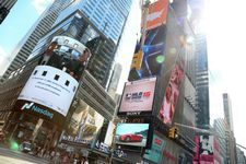 New Year's video to be screened in Times Square made by Israeli company