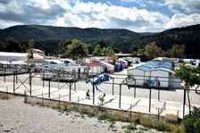 The Malakassa camp north of Athens houses some 700 asylum seekers, mainly from Afghanistan