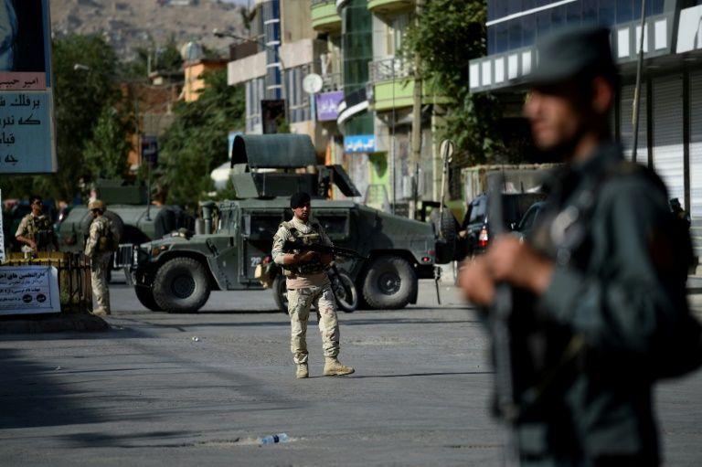 Explosion près de l'ambassade des USA à Kaboul