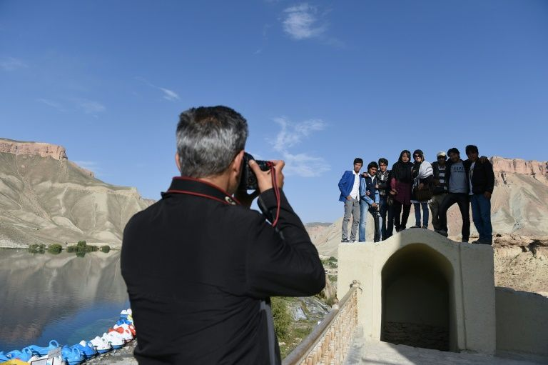 Afghans continue to visit Bamiyan, but some warn of the perils of the overland journey through the war-ravaged country
