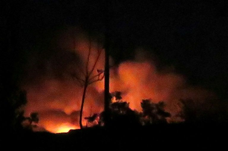 Israeli strikes hit arms depot near Damascus airport