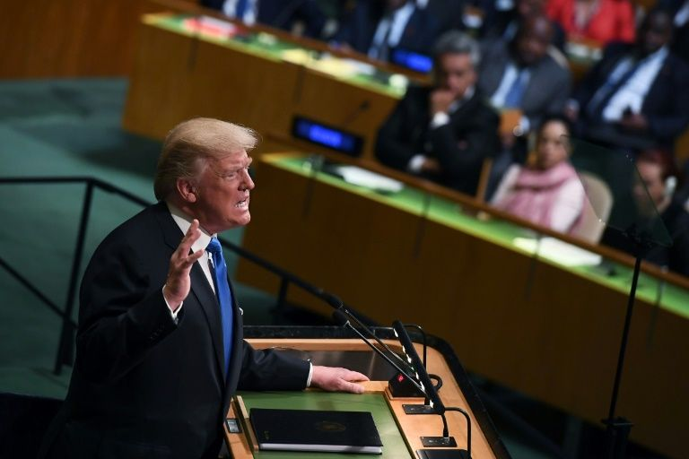 UN: Trump gives scathing rebuke of Iran, is mum on Israel-Palestinian conflict