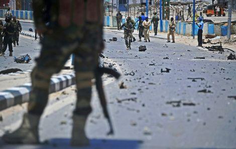 Somalie: au moins 13 policiers tués dans un attentat-suicide à Mogadiscio
