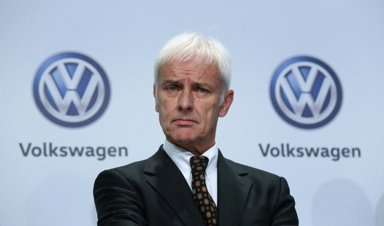 Volkswagen CEO being investigated over market manipulation in 'Dieselgate'