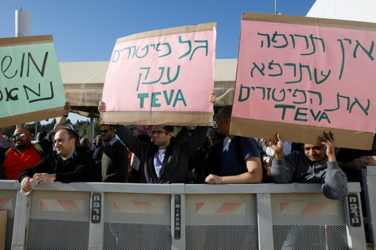 Strike over Teva layoffs briefly halts flights at Israel's main airport