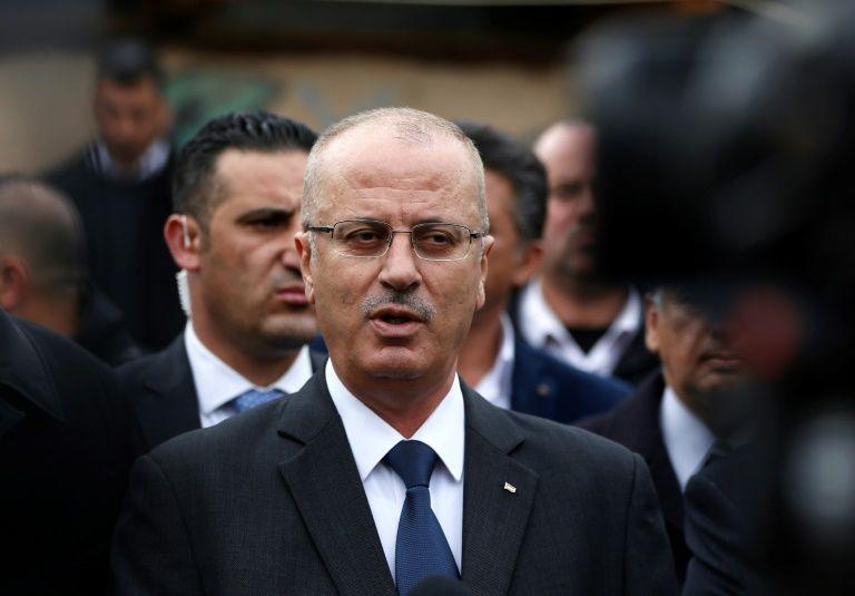Première visite à Gaza du Premier ministre palestinien depuis 2015