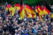 Amid right-wing rallies and Hitler salutes, resilience of Jews in Chemnitz
