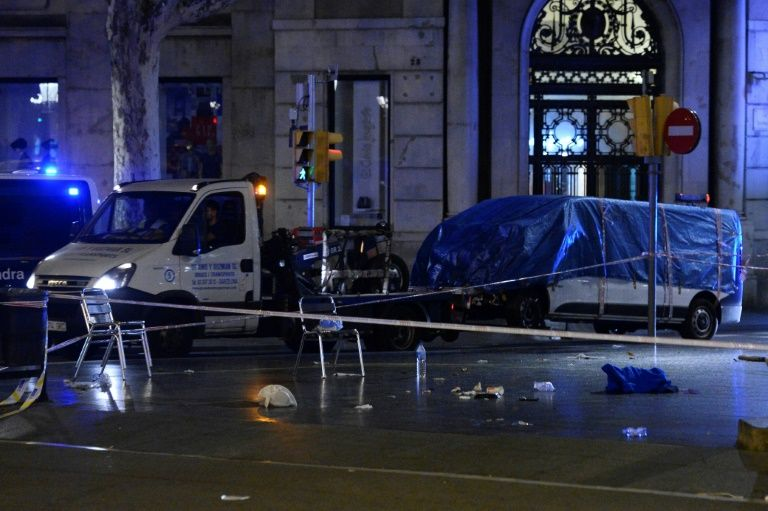 Dutch police probe Spanish van after terrorist attack tip