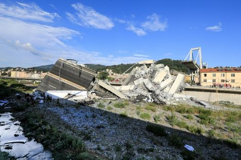 The incident is the deadliest of its kind in Europe since 2001 and the latest in a string of bridge collapses in Italy